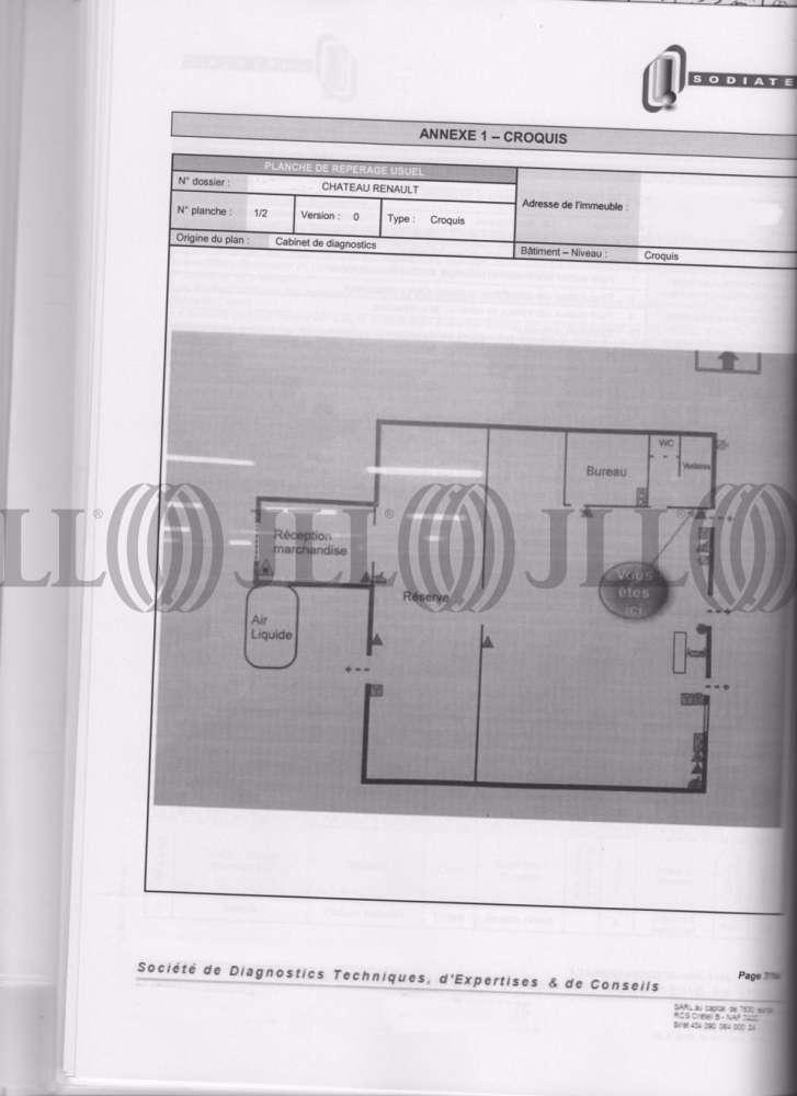 Activités/entrepôt Chateau renault, 37110 - 22 RUE DU BOIS BOUQUIN - 10775009
