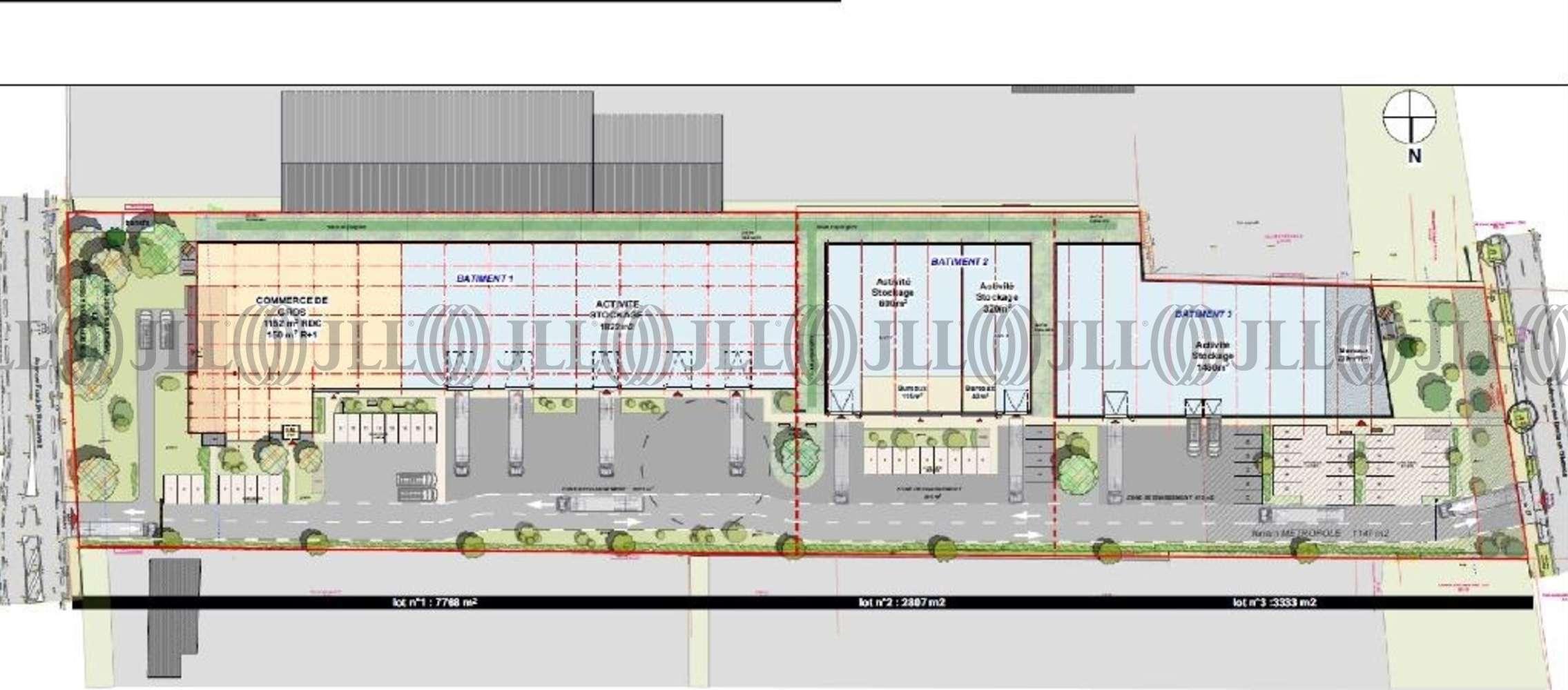 Activités/entrepôt Vaulx en velin, 69120 - Location entrepot Vaulx en Velin, Négoce - 10874402