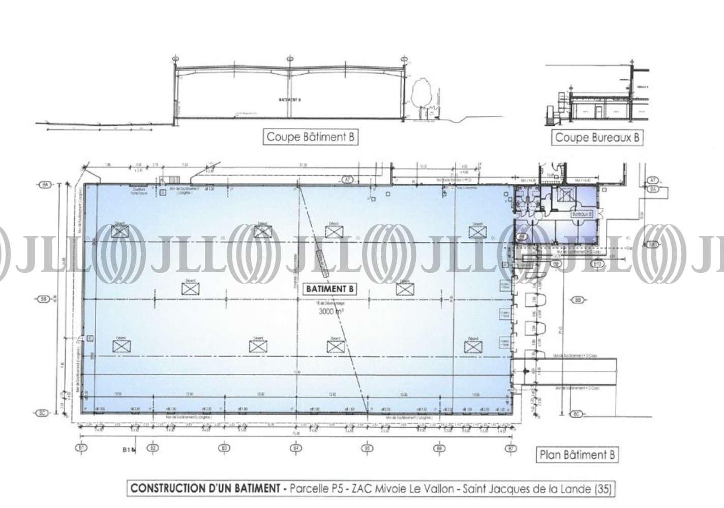 Activités/entrepôt St jacques de la lande, 35136 - ZAC DE MIVOIE LE VALLON - 10938775