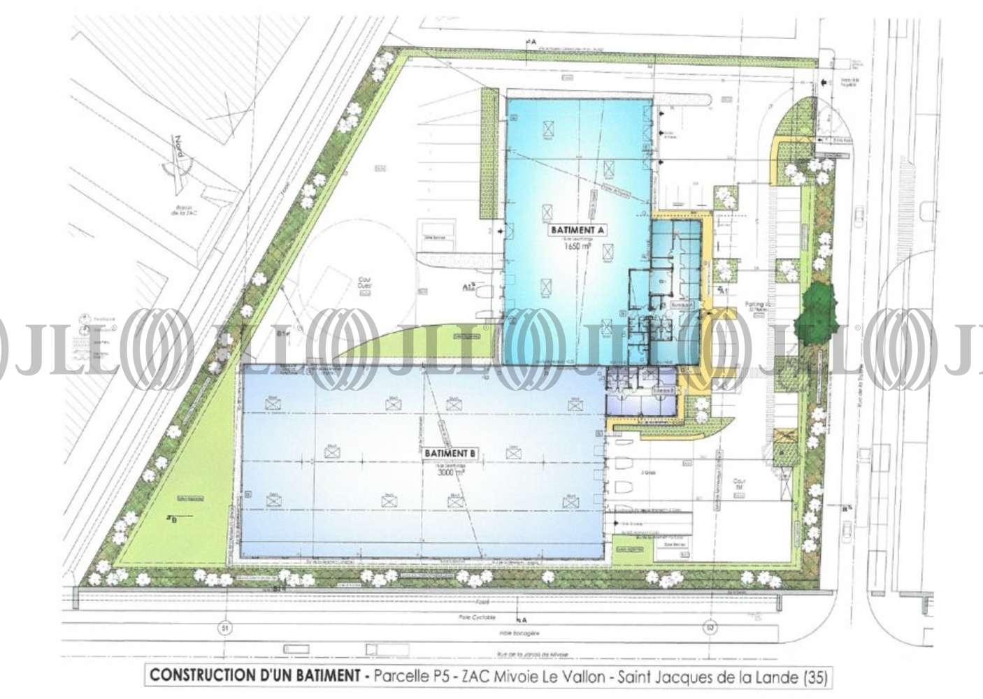 Activités/entrepôt St jacques de la lande, 35136 - ZAC DE MIVOIE LE VALLON - 10938776