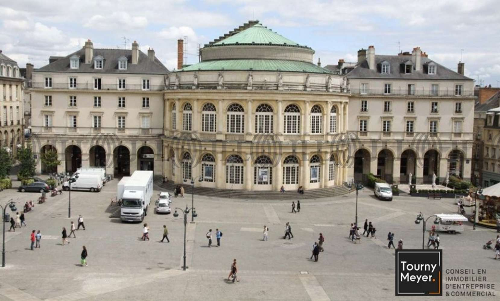 Bureaux Rennes, 35000 - PLACE DE LA MAIRIE