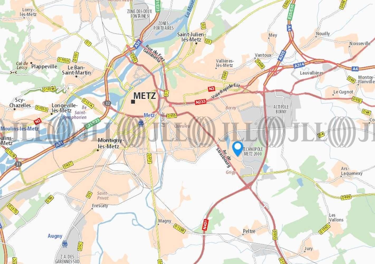 Bureaux Metz, 57000 - 1 RUE DE VERCLY