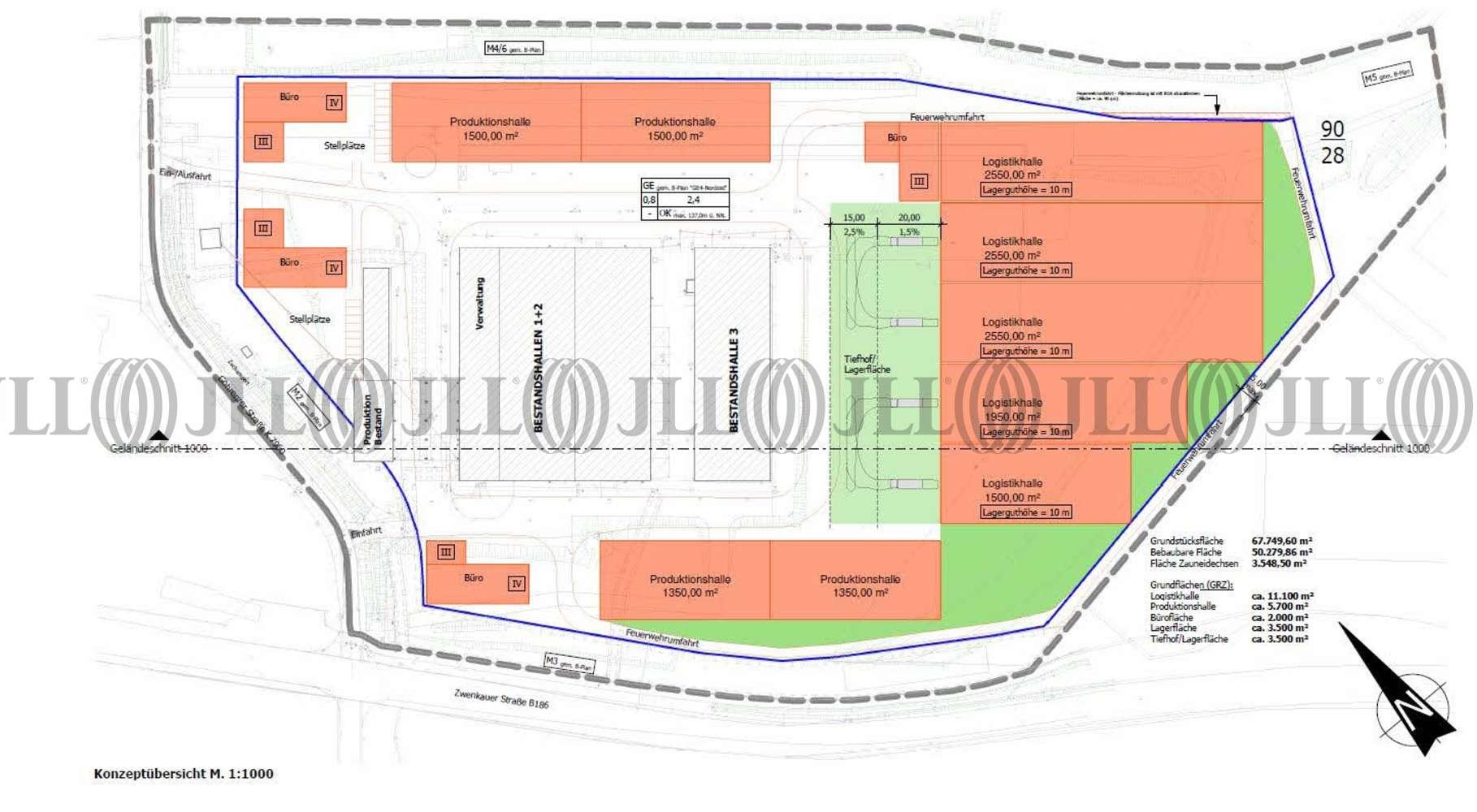Hallen Markranstädt, 04420 - Halle - Markranstädt, Kulkwitz - B1366 - 9536148