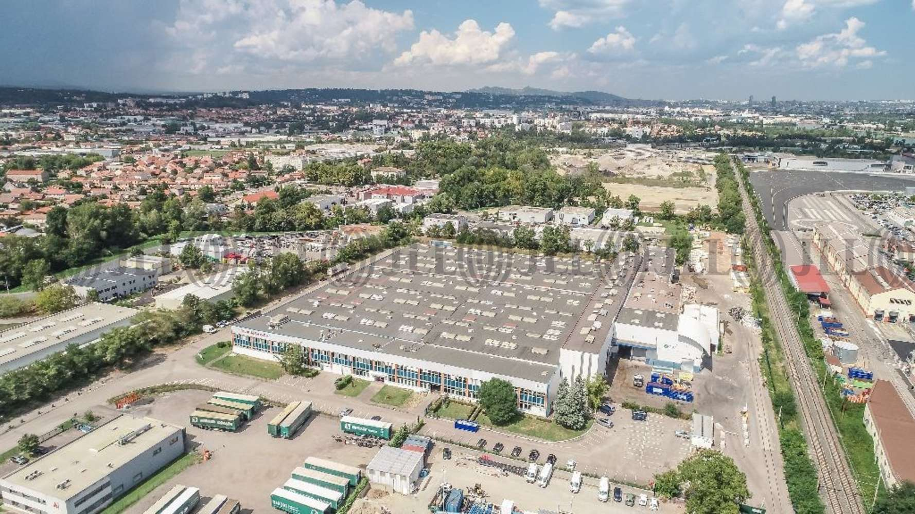 Plateformes logistiques Irigny, 69540 - Entrepot à vendre Lyon Sud - Irigny - 9959536