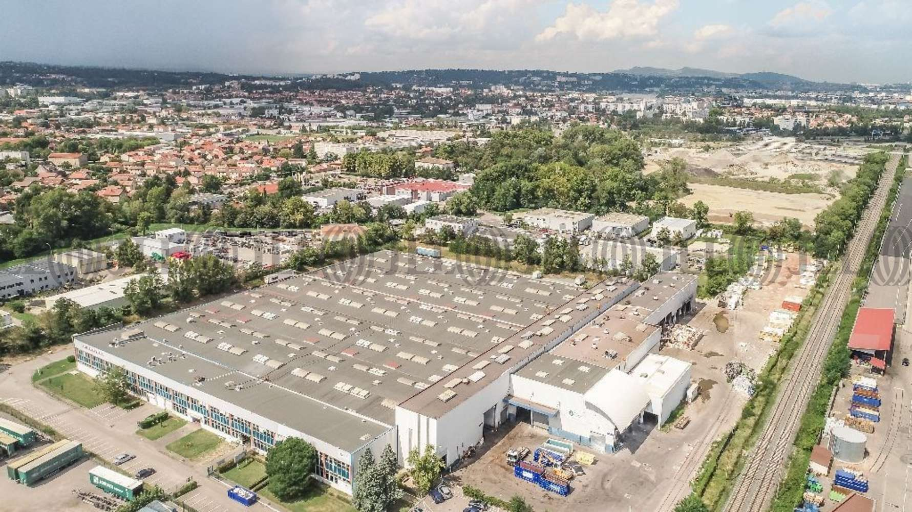 Plateformes logistiques Irigny, 69540 - Entrepot à vendre Lyon Sud - Irigny - 9983579
