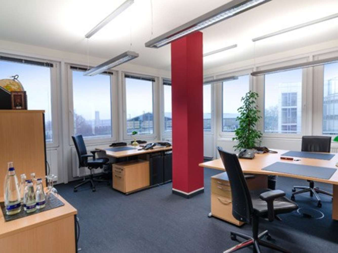 Büros München, 81677 - Büro auf Zeit - München - C0048 - 1346816
