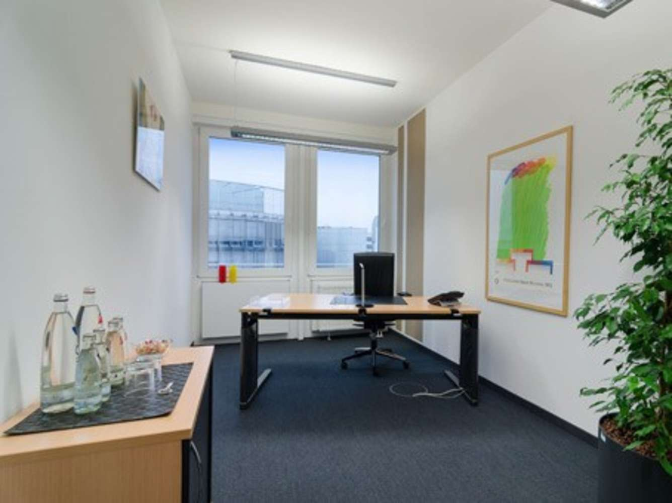 Büros München, 81677 - Büro auf Zeit - München - C0048 - 1347209