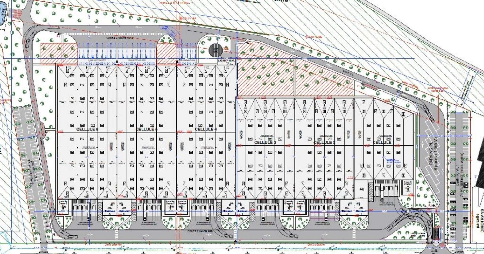 Plateformes logistiques Castelnau d estretefonds, 31620 - Entrepôt logistique divisible - A louer - 9455374
