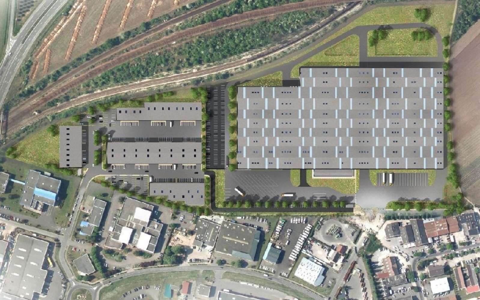 Activités/entrepôt Neuville sur oise, 95000 -  RUE DES CAYENNES - 9475491