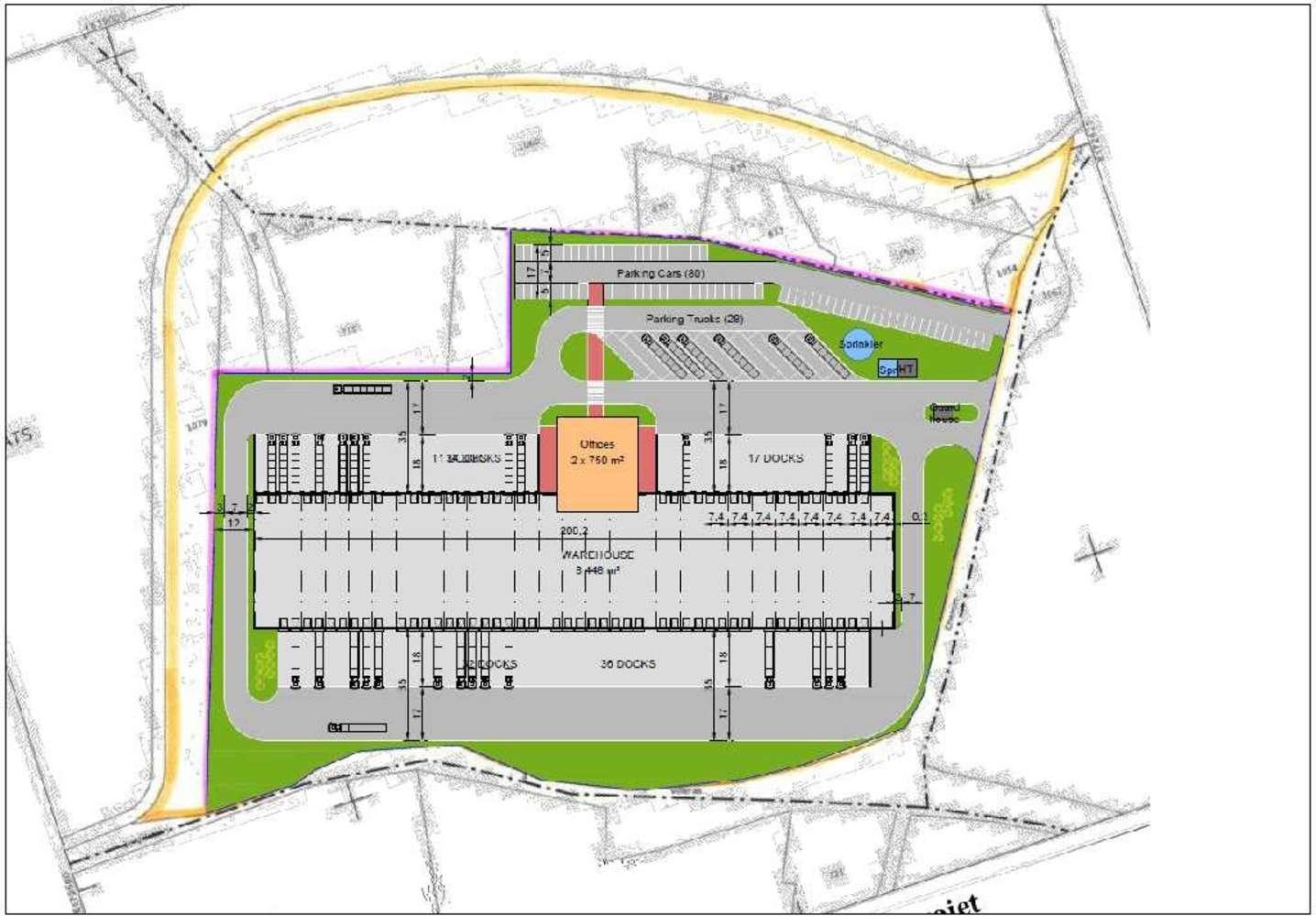 Plateformes logistiques Saclay, 91400 -  RUE DE VILLERAS - 9506388