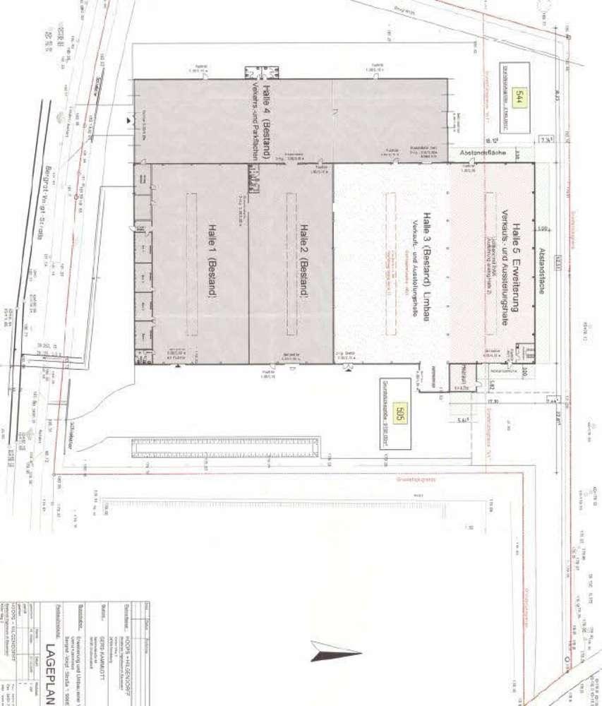 Hallen Erfurt, 99087 - Halle - Erfurt, Hohenwinden - B1324 - 9506464