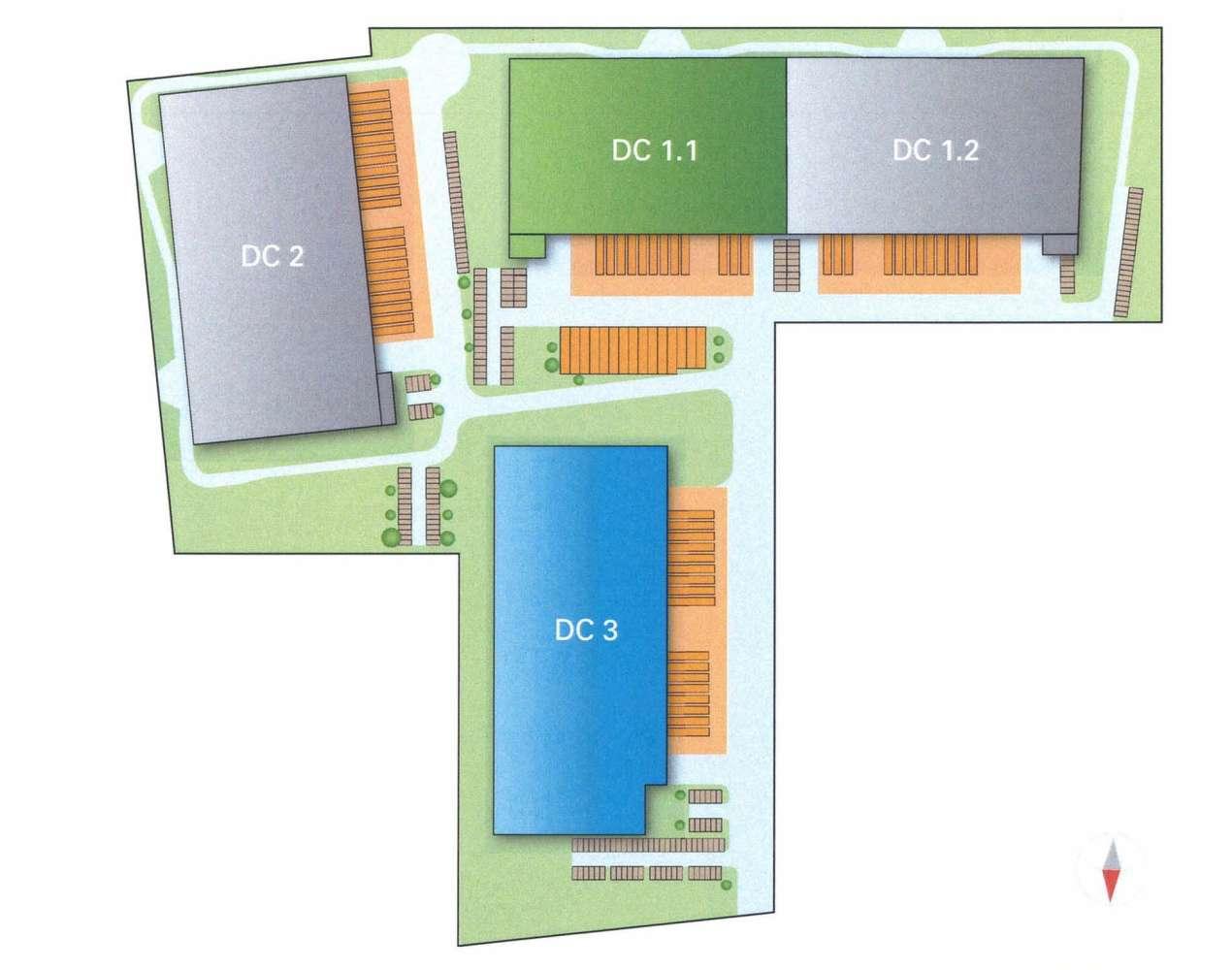 Hallen Krefeld, 47807 - Halle - Krefeld, Fischeln - D0180 - 9515989