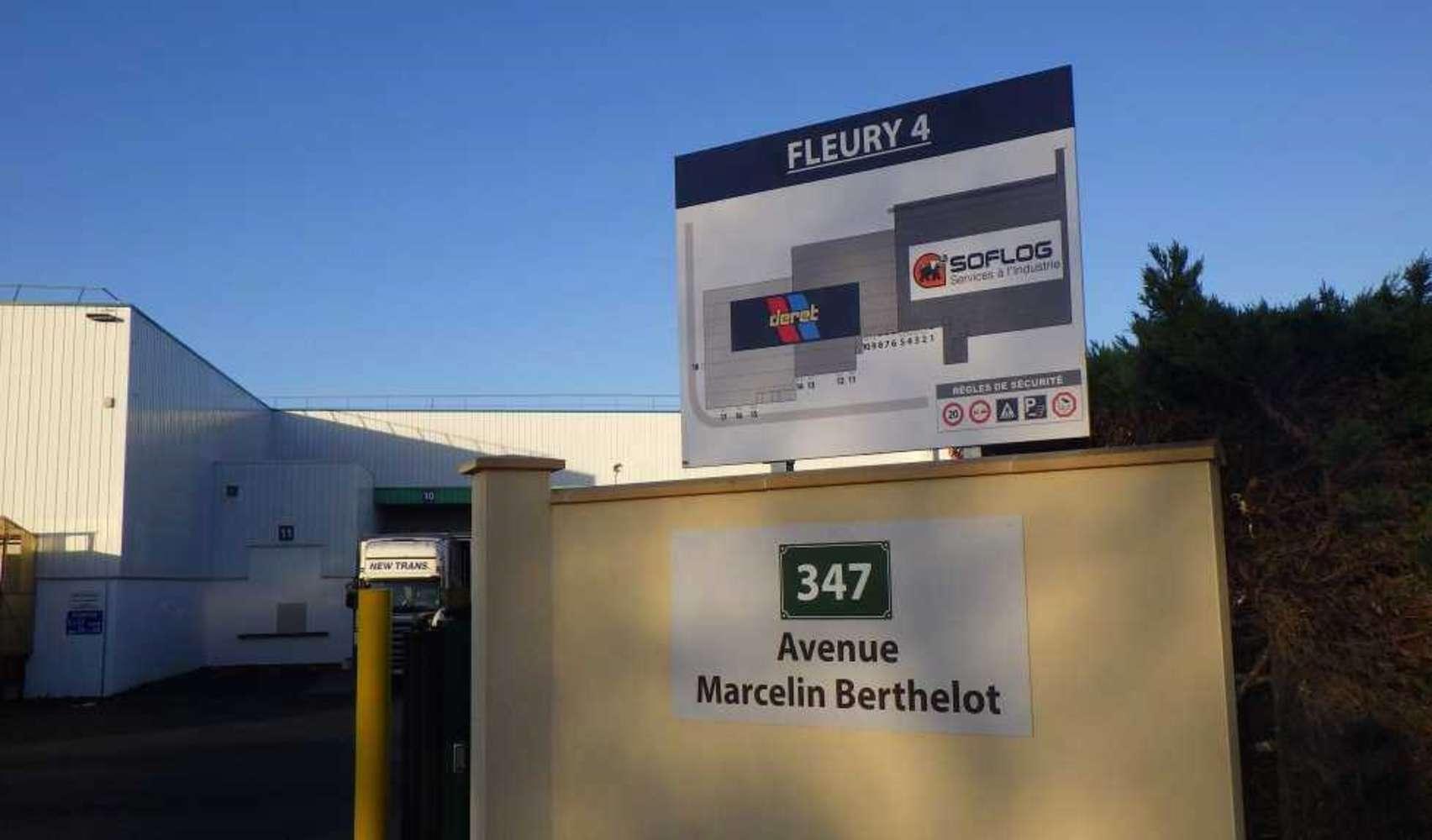 Plateformes logistiques Fleury les aubrais, 45400 - 347 RUE MARCELIN BERTHELOT - 9576063