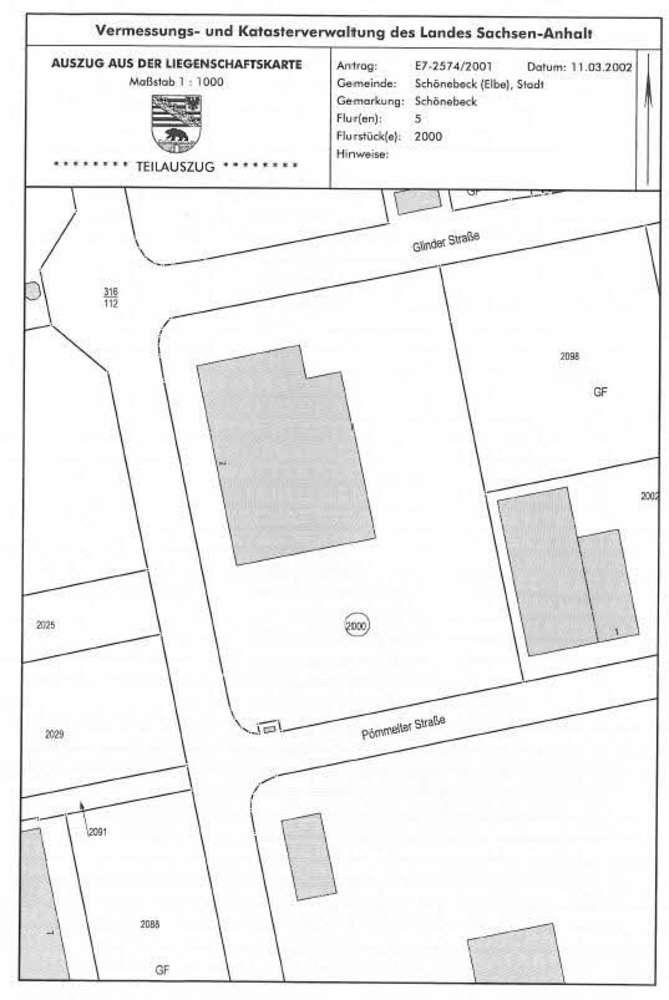 Hallen Schönebeck (elbe), 39218 - Halle - Schönebeck (Elbe), Schönebeck - B1460 - 9583839
