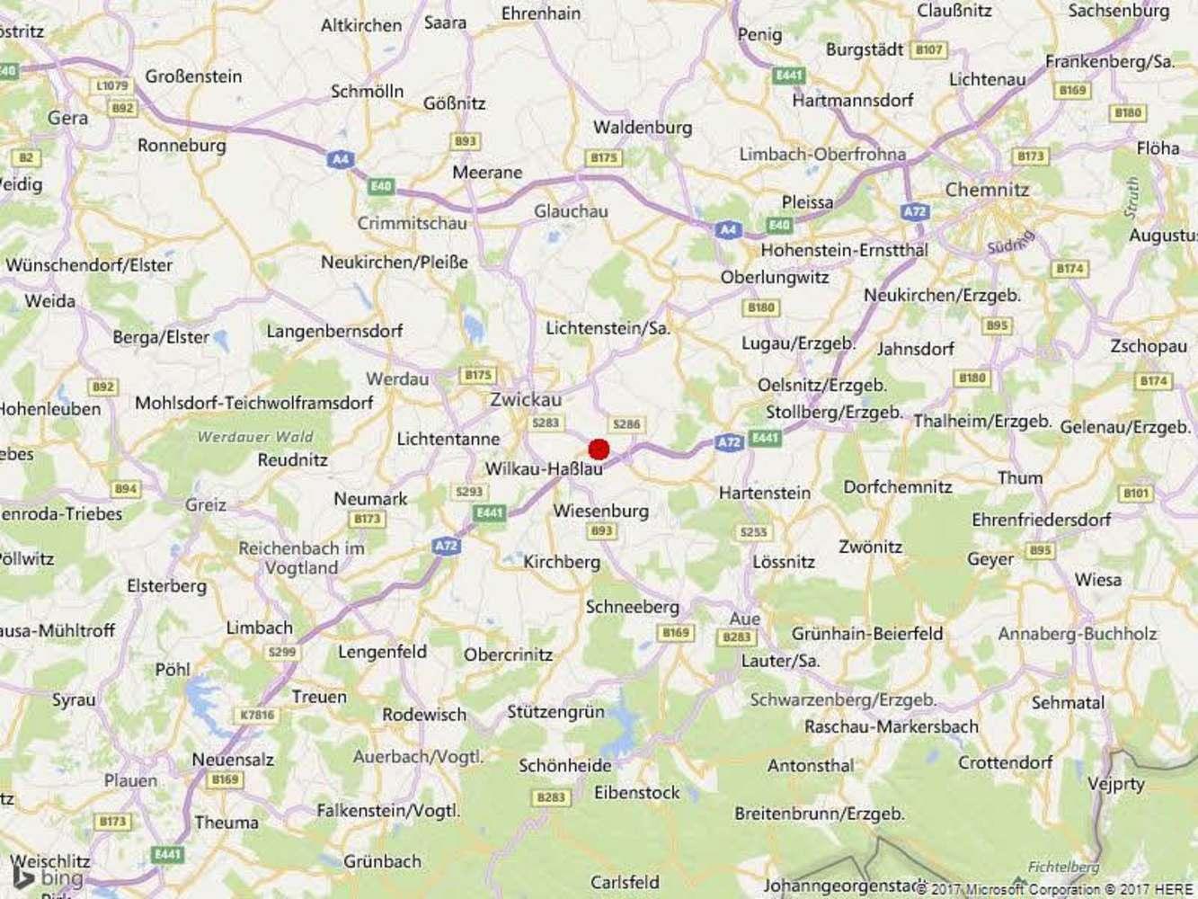 Hallen Reinsdorf, 08141 - Halle - Reinsdorf, Friedrichsgrün - B1265 - 9589220
