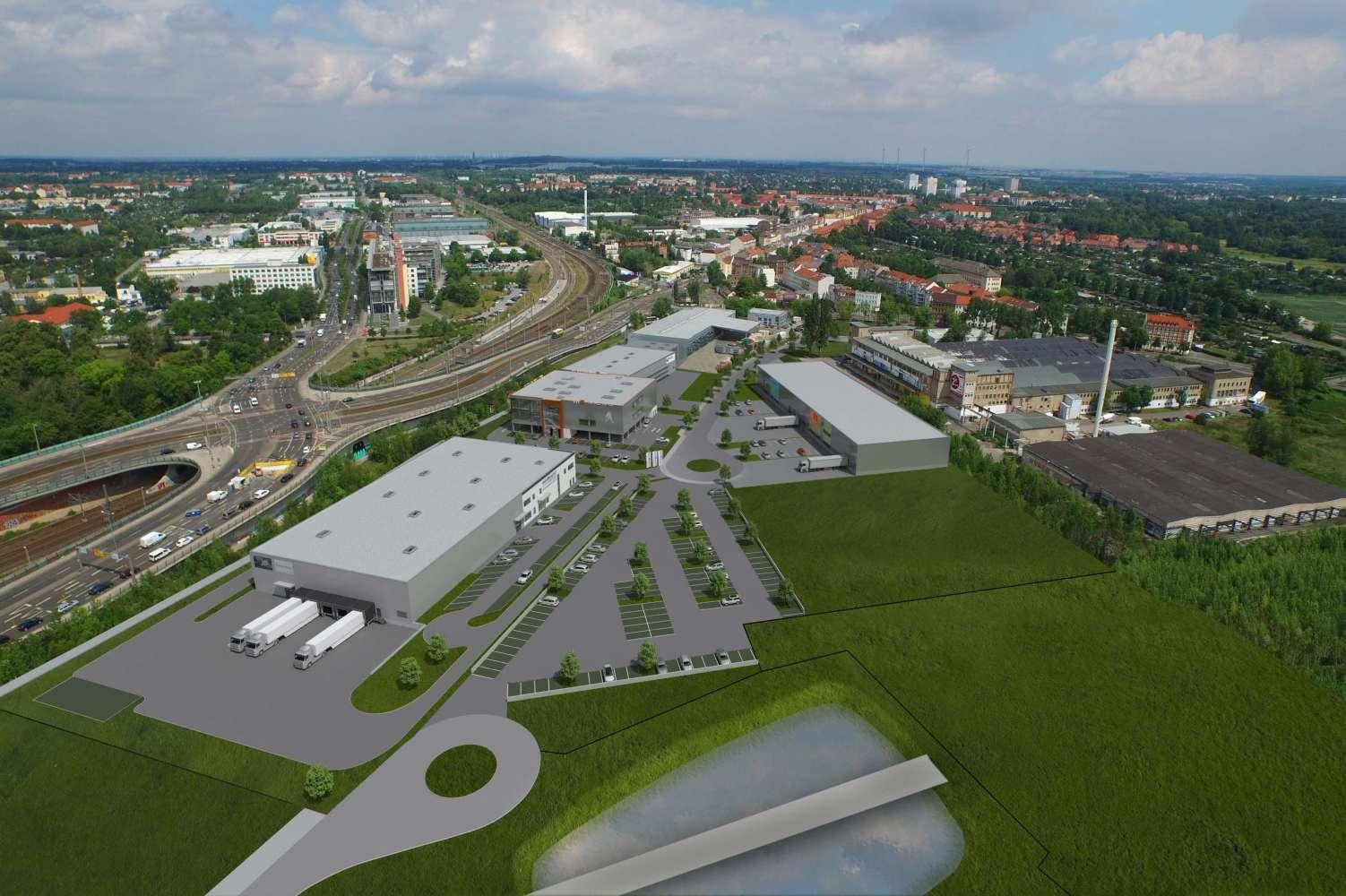 Hallen Leipzig, 04357 - Halle - Leipzig, Mockau-Nord - B1271 - 9620997