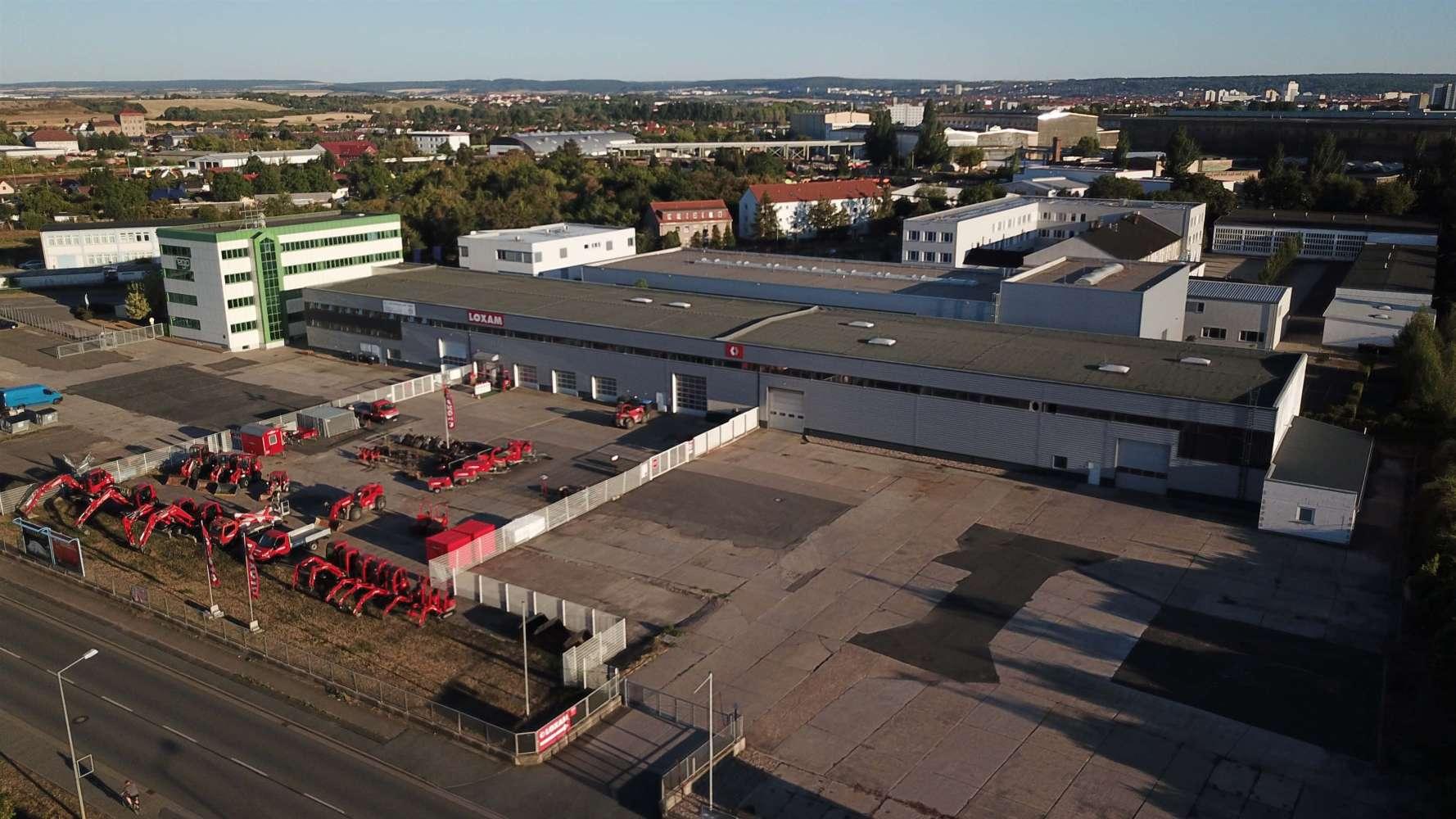 Hallen Erfurt, 99086 - Halle - Erfurt, Ilversgehofen - B1321 - 9642107
