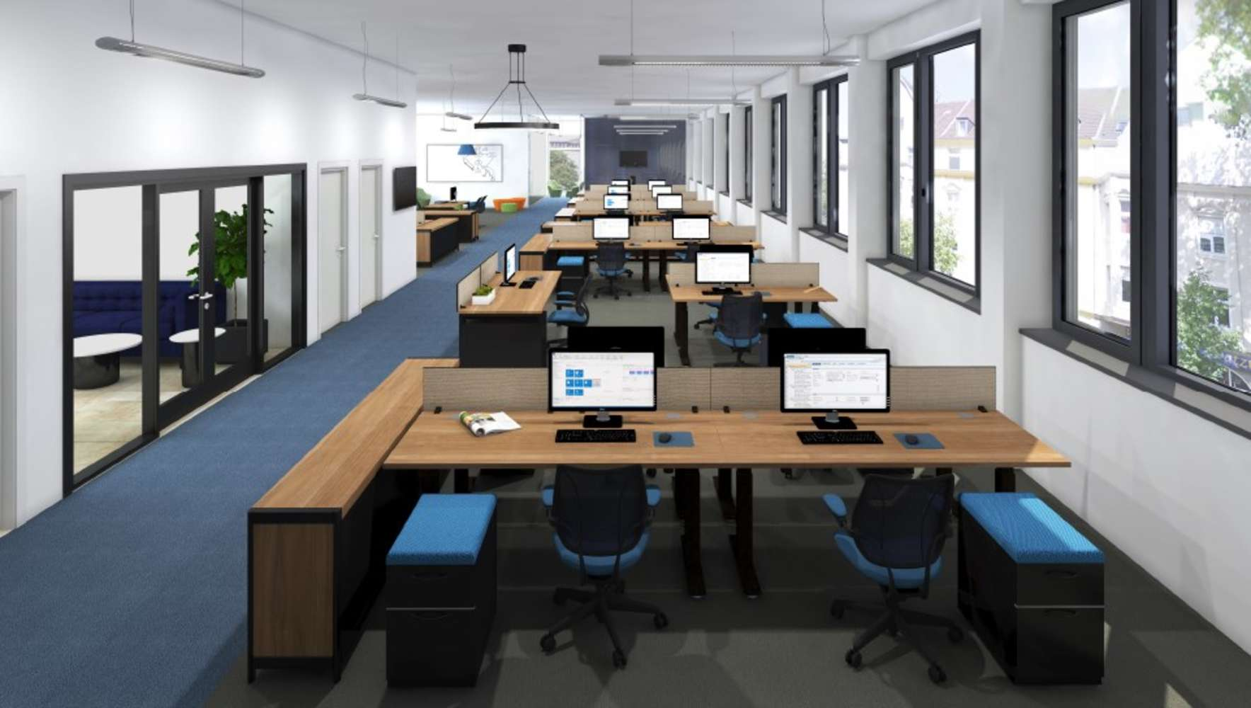 Büros Duisburg, 47057 - Büro - Duisburg, Neudorf-Nord - D2336 - 9769769