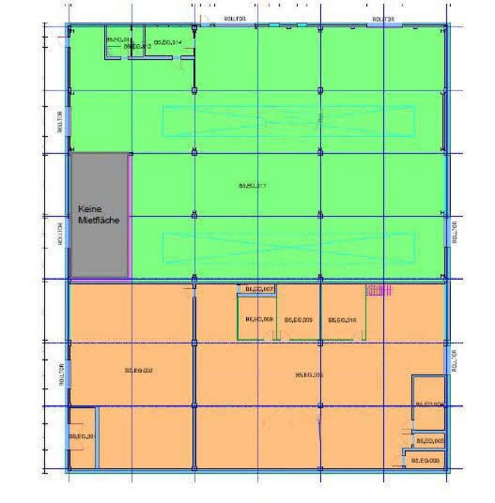 Hallen Ratingen, 40880 - Halle - Ratingen, Tiefenbroich - D0539 - 9786317