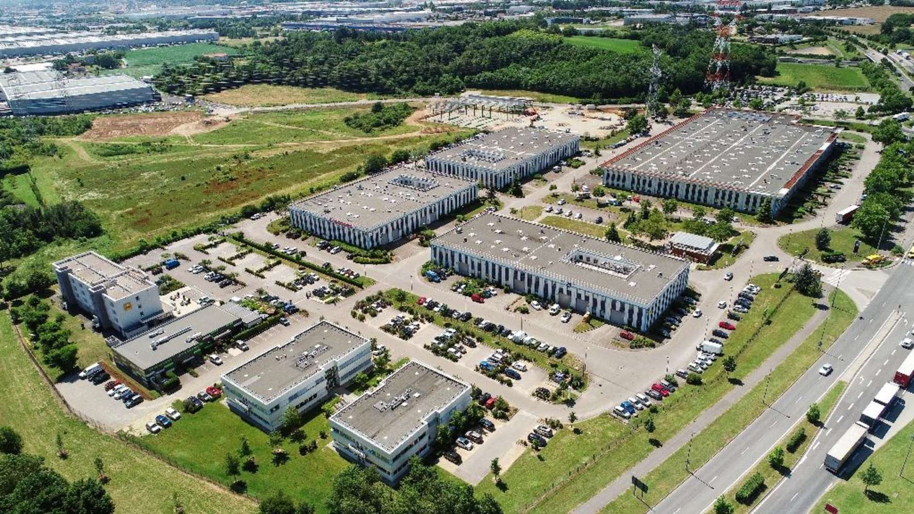 Activités/entrepôt St quentin fallavier, 38070 - Parc d'activité Saint-Quentin Fallavier - 9918033