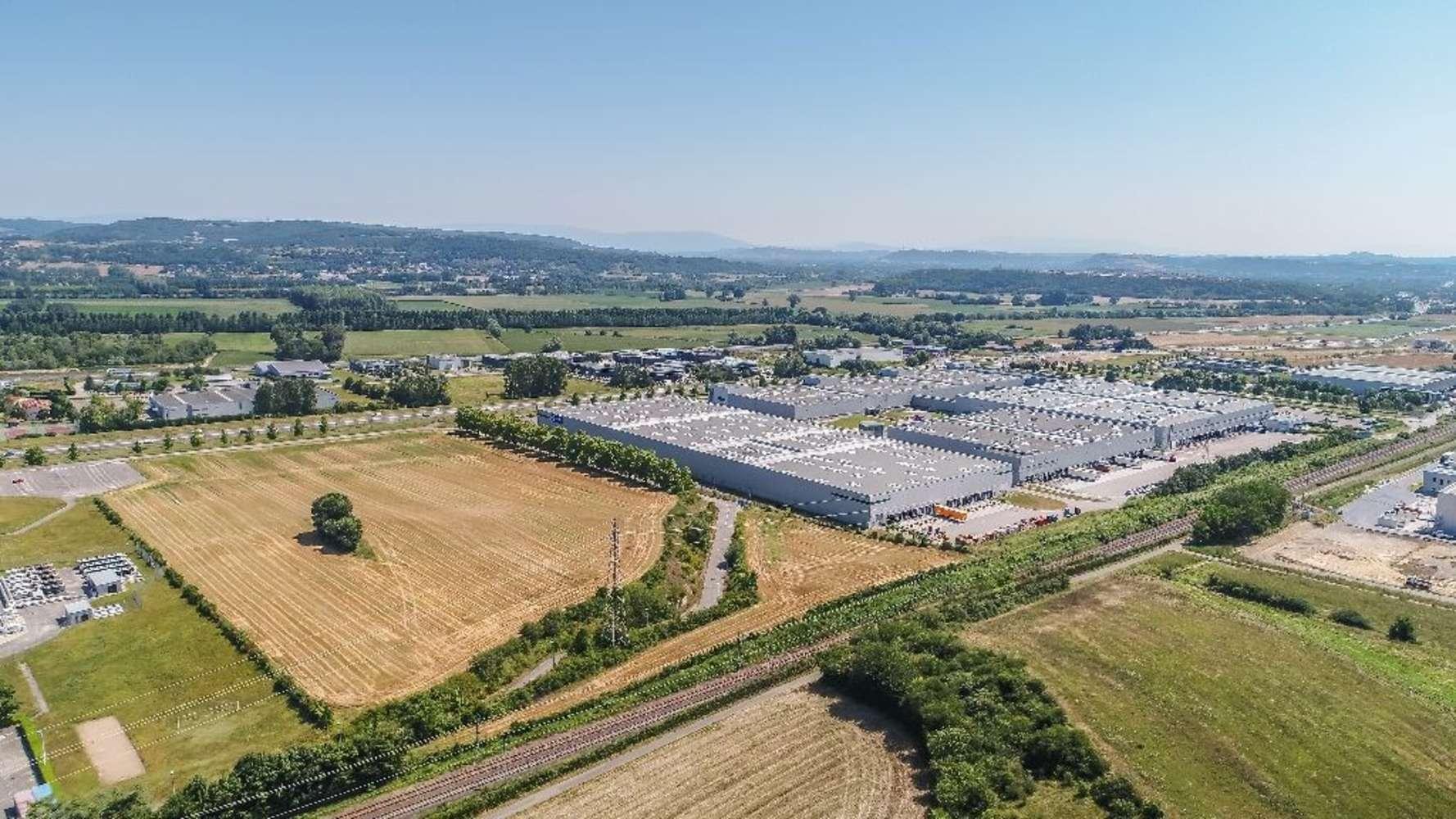 Plateformes logistiques Vaulx milieu, 38090 - A louer - entrepôt logistique Isère (38) - 9988852