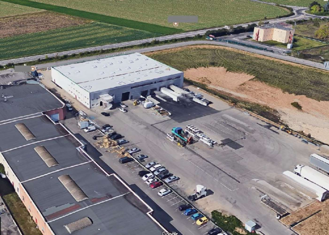 Activités/entrepôt St pierre de chandieu, 69780 - Batiment industriel à louer - Lyon Sud - 10021108