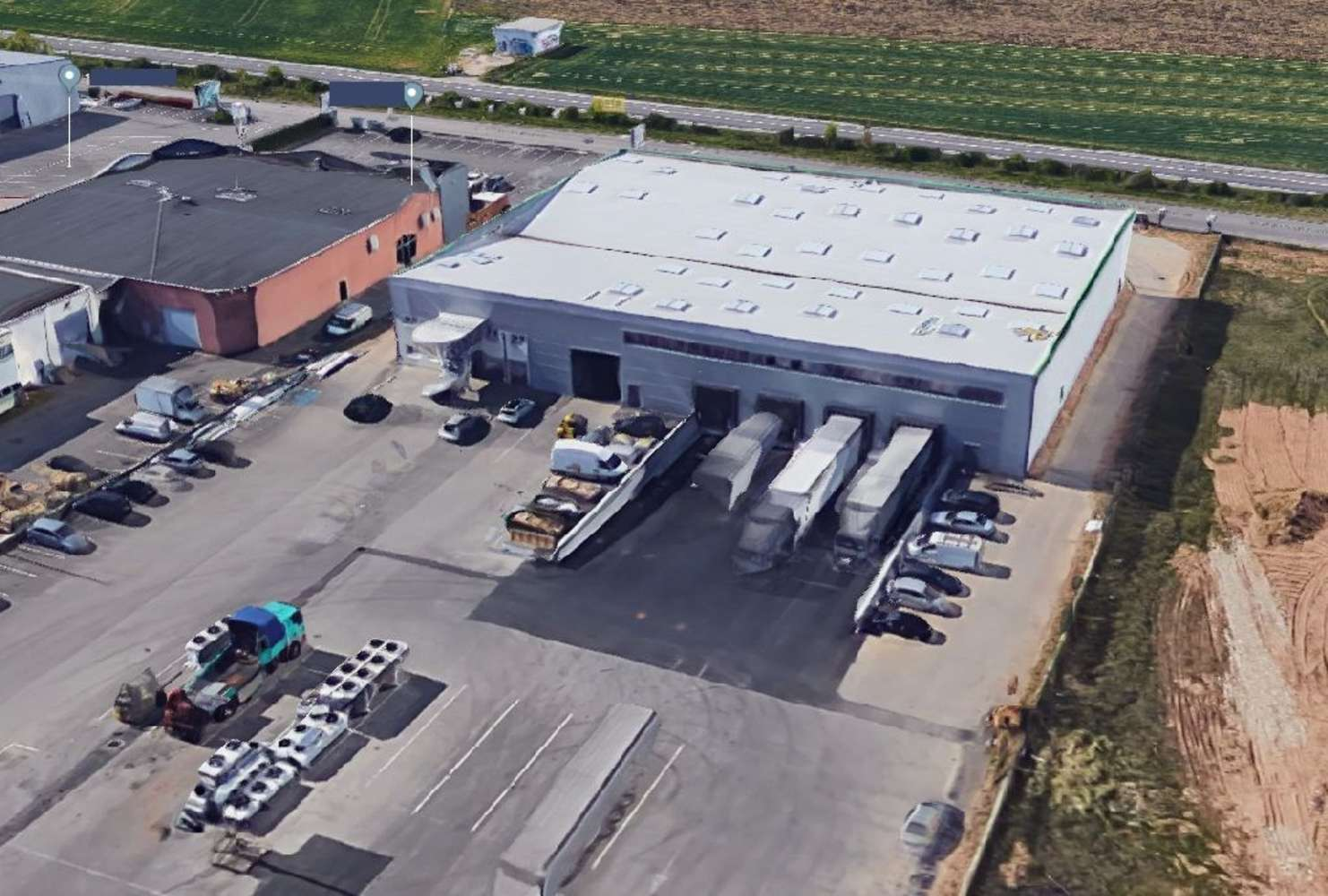 Activités/entrepôt St pierre de chandieu, 69780 - Batiment industriel à louer - Lyon Sud - 10021109