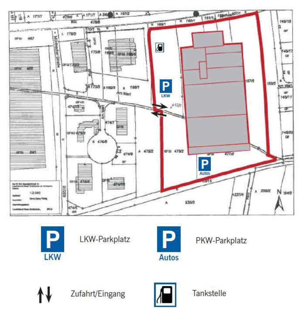 Hallen Lampertswalde, 01561 - Halle - Lampertswalde - B1476 - 10061522