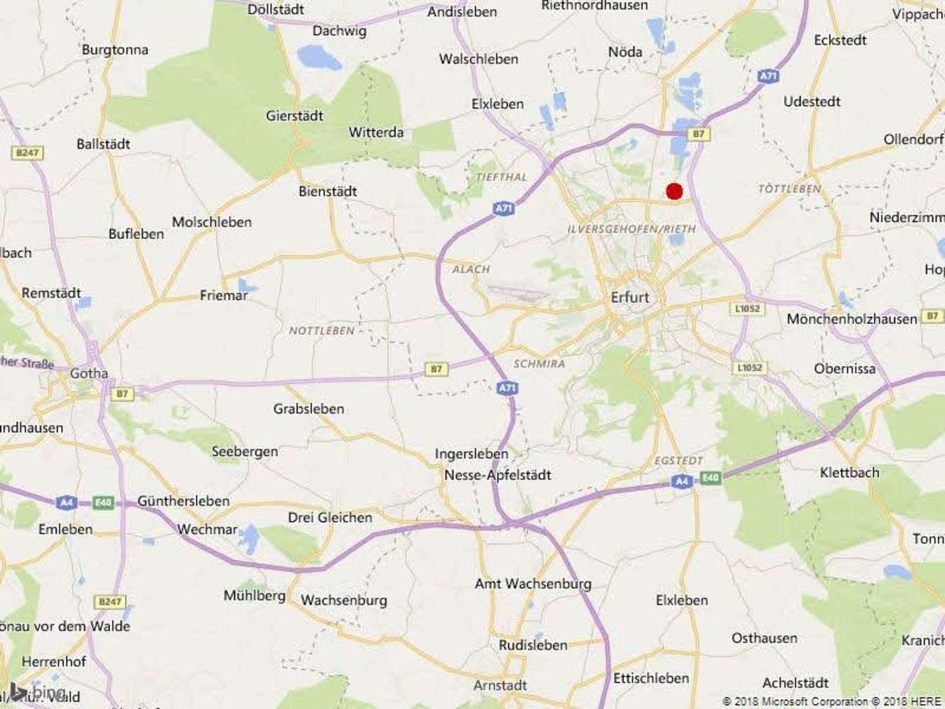 Hallen Erfurt, 99085 - Halle - Erfurt, Hohenwinden - B1352 - 10062868
