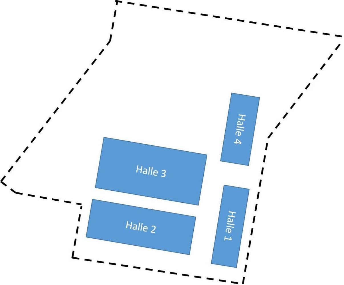 Hallen Erfurt, 99085 - Halle - Erfurt, Hohenwinden - B1352 - 10062870