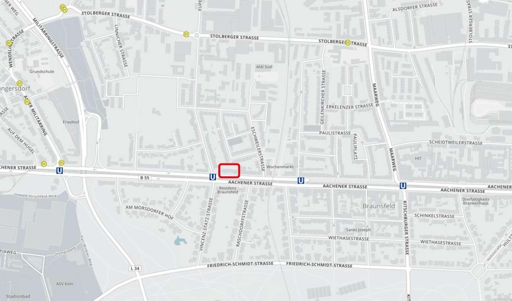 Ladenflächen Köln, 50933 - Ladenfläche - Köln, Braunsfeld - E0928 - 10090508