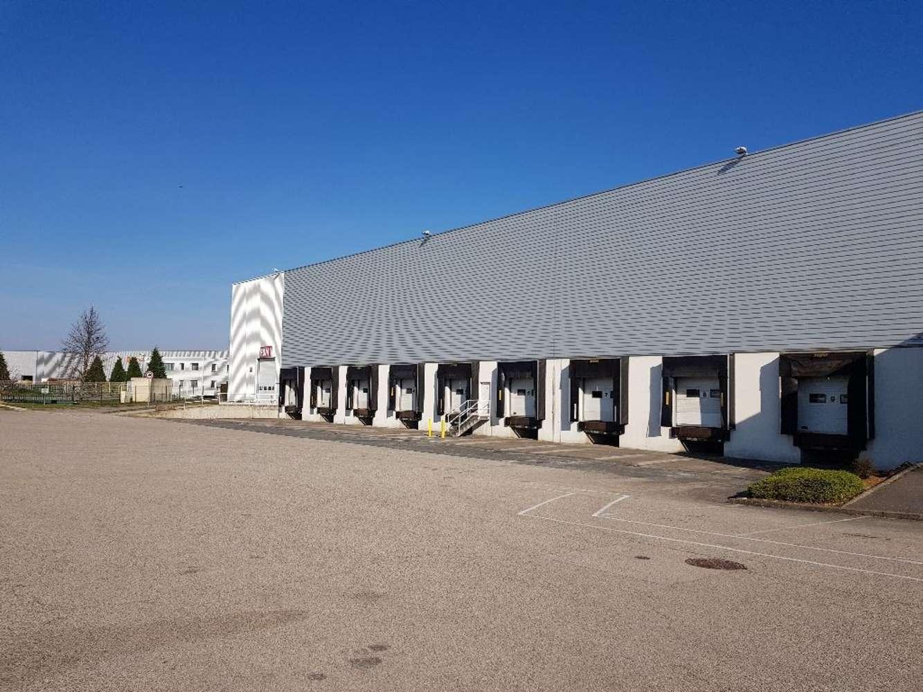 Plateformes logistiques Meyzieu, 69330 - Entrepot à louer Meyzieu - Lyon Est - 10261872