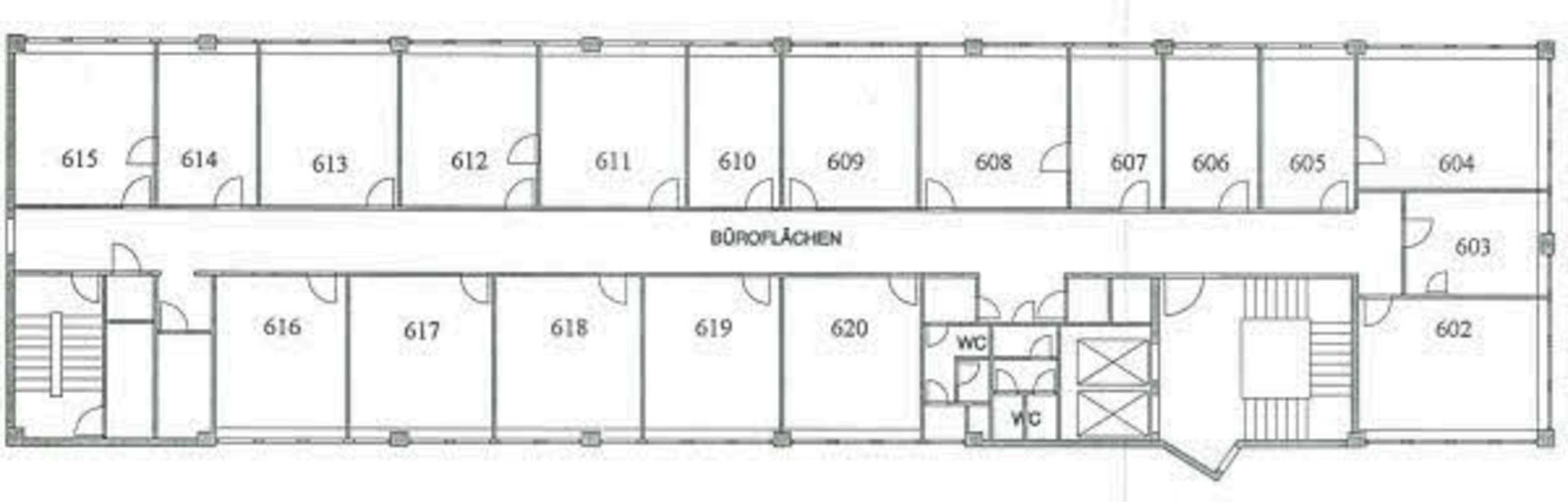 Büros Düsseldorf, 40470 - Büro - Düsseldorf, Mörsenbroich - D0125 - 10410853