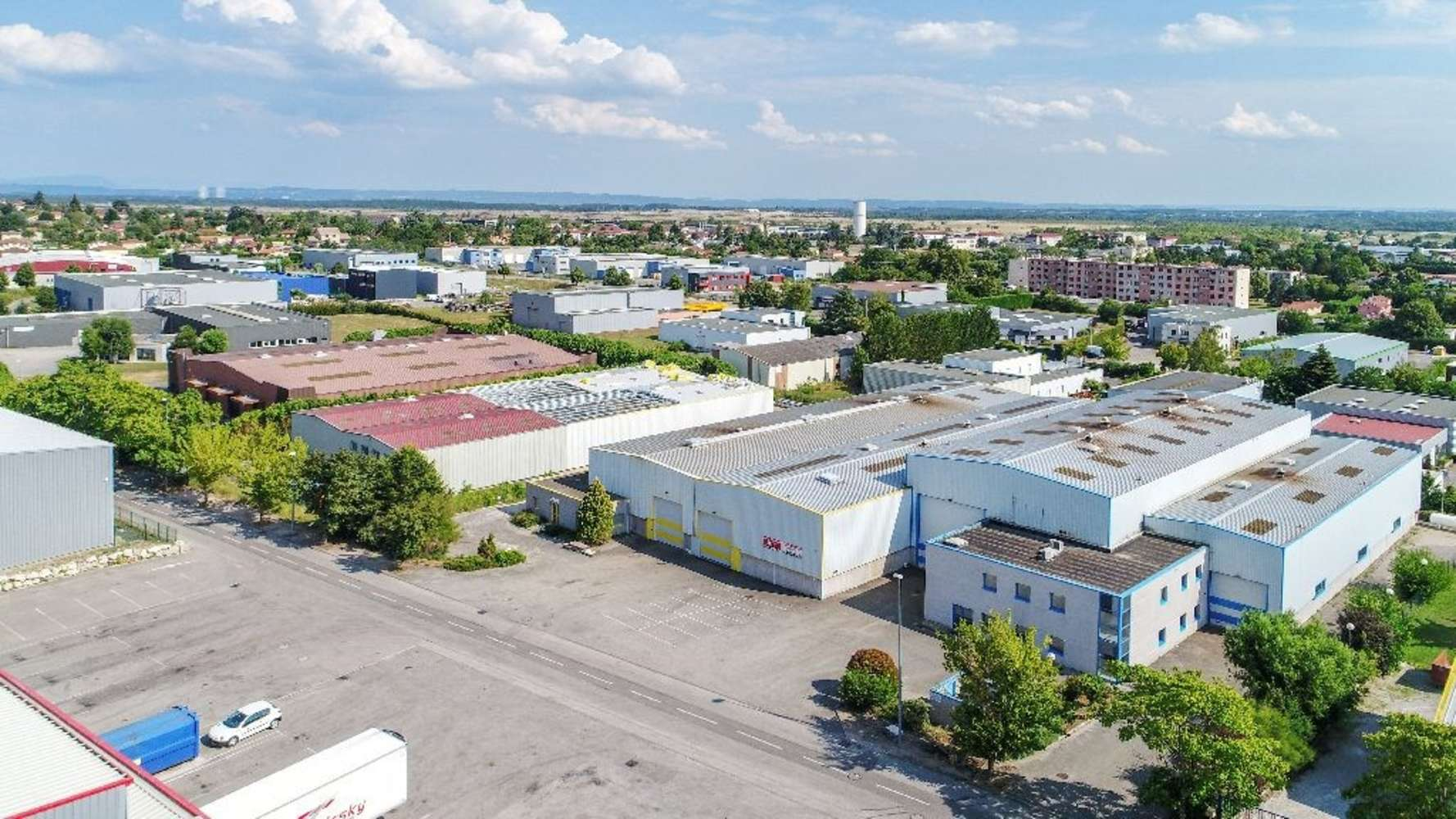 Activités/entrepôt Beligneux, 01360 - ENTREPOT À VENDRE LYON NORD - AIN - 10624504
