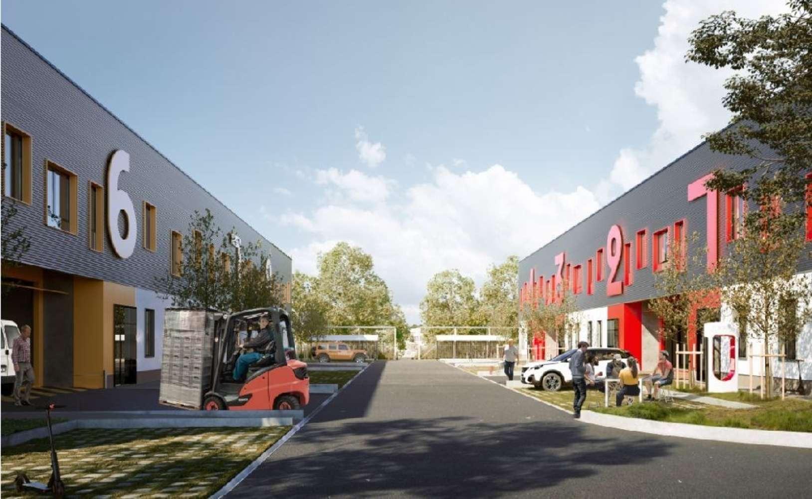 Activités/entrepôt Gonesse, 95500 - PARC D'ACTIVITES DE LA FONTAINE CYPIERRE - 10642473