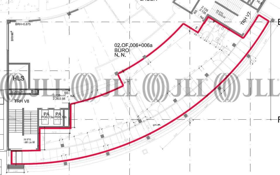 b roimmobilie zur miete in magdeburg altstadt 39104 b0233 jll. Black Bedroom Furniture Sets. Home Design Ideas