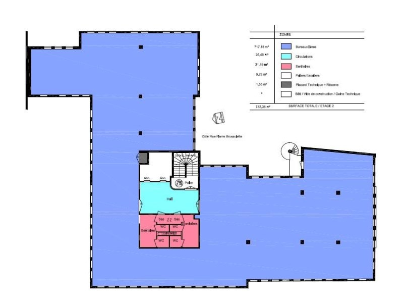 bureaux louer le polaris 92240 malakoff 22005 jll. Black Bedroom Furniture Sets. Home Design Ideas
