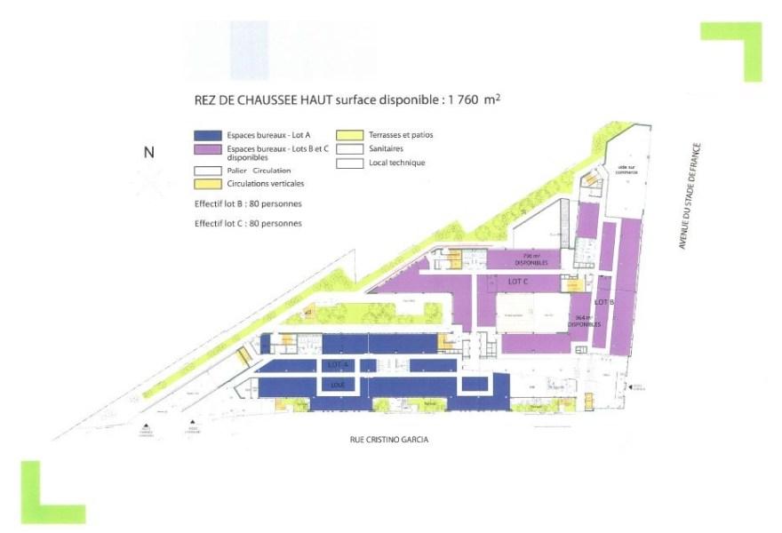 Bureaux louer green corner 93210 la plaine st denis 25271 jll - Delai retour caution location ...