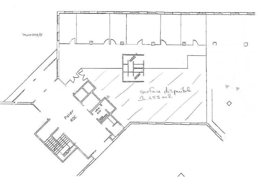 Bureaux à louer à ST AUBIN 91190 - ESPACE TECHNOLOGIQUE - MERCURY II plan d'étage 1