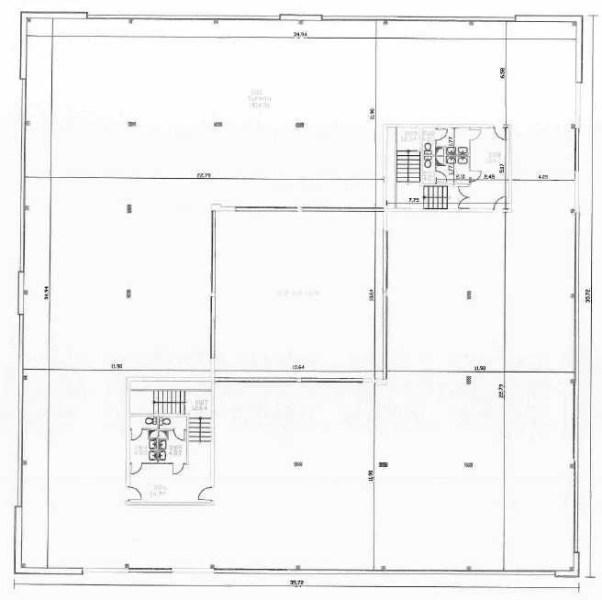 Bureaux à louer à BIEVRES 91570 - PARC BUROSPACE plan d'étage 2
