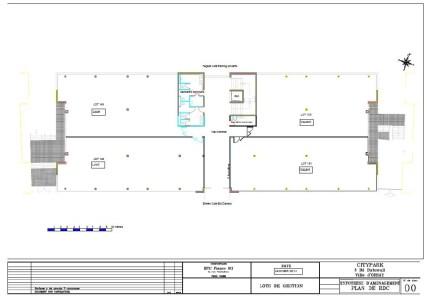 Bureaux à louer à ORSAY 91400 - CITYPARC DE LA GARE D'ORSAY - SISLEY plan d'étage 1