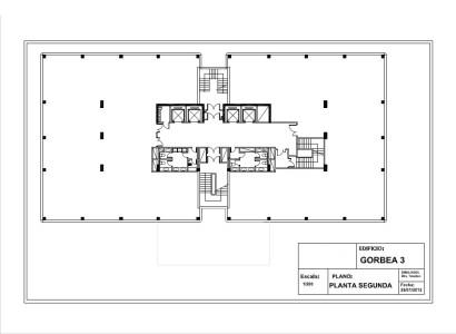 """Edificio """"GORBEA III"""" - Oficinas, alquiler 1"""