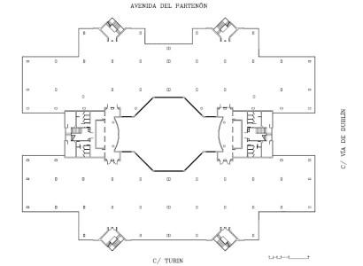 Av. PARTENON 16-18 - Oficinas, alquiler 1