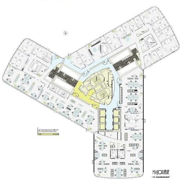 bureaux louer tour first 92400 courbevoie 15835 jll. Black Bedroom Furniture Sets. Home Design Ideas