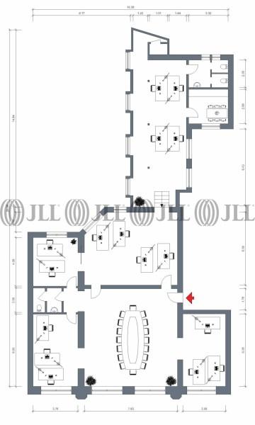Büro - Hamburg, Altstadt - H0440, | JLL | {Teeküche büro grundriss 20}
