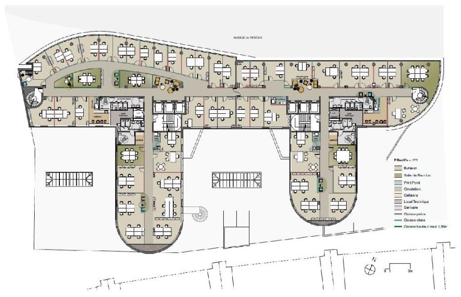 bureaux louer inspira 92130 issy les moulineaux 9444 jll. Black Bedroom Furniture Sets. Home Design Ideas