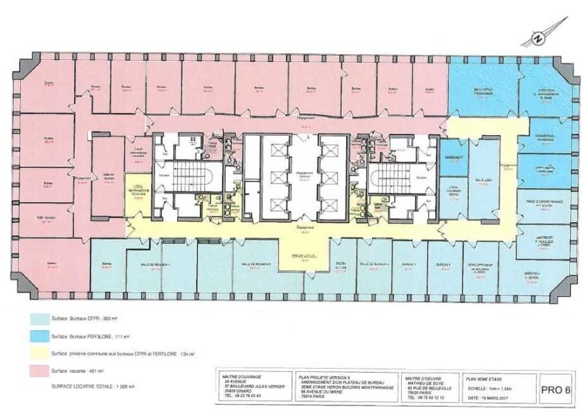 Bureaux louer heron building 75014 paris 55519 jll for Garage avenue du maine