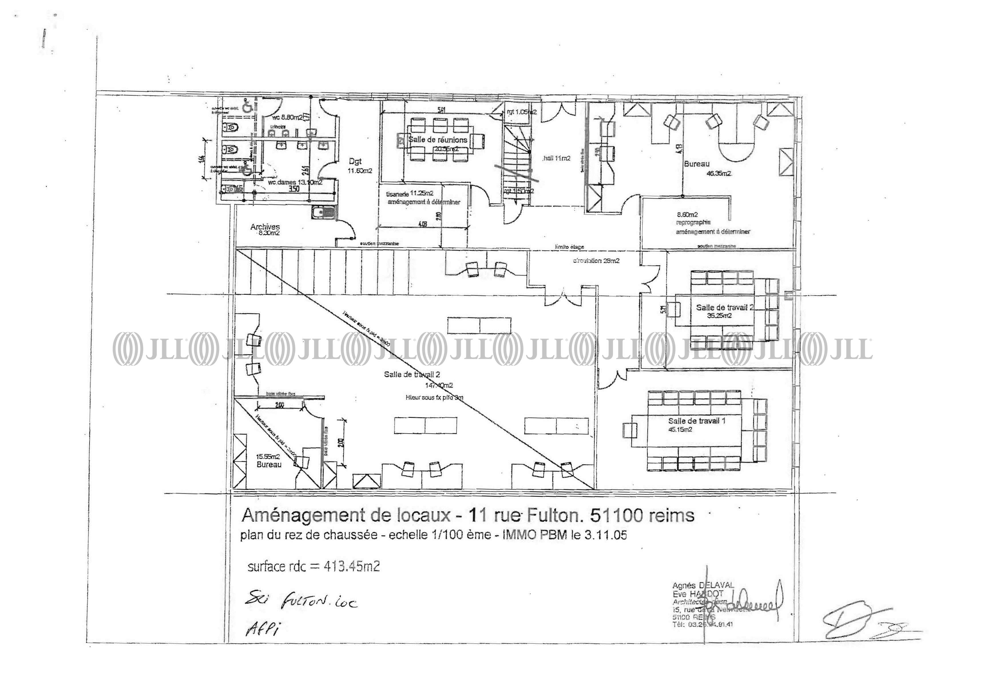 Bureaux Reims, 51100 - 7 RUE ROBERT FULTON - 488661
