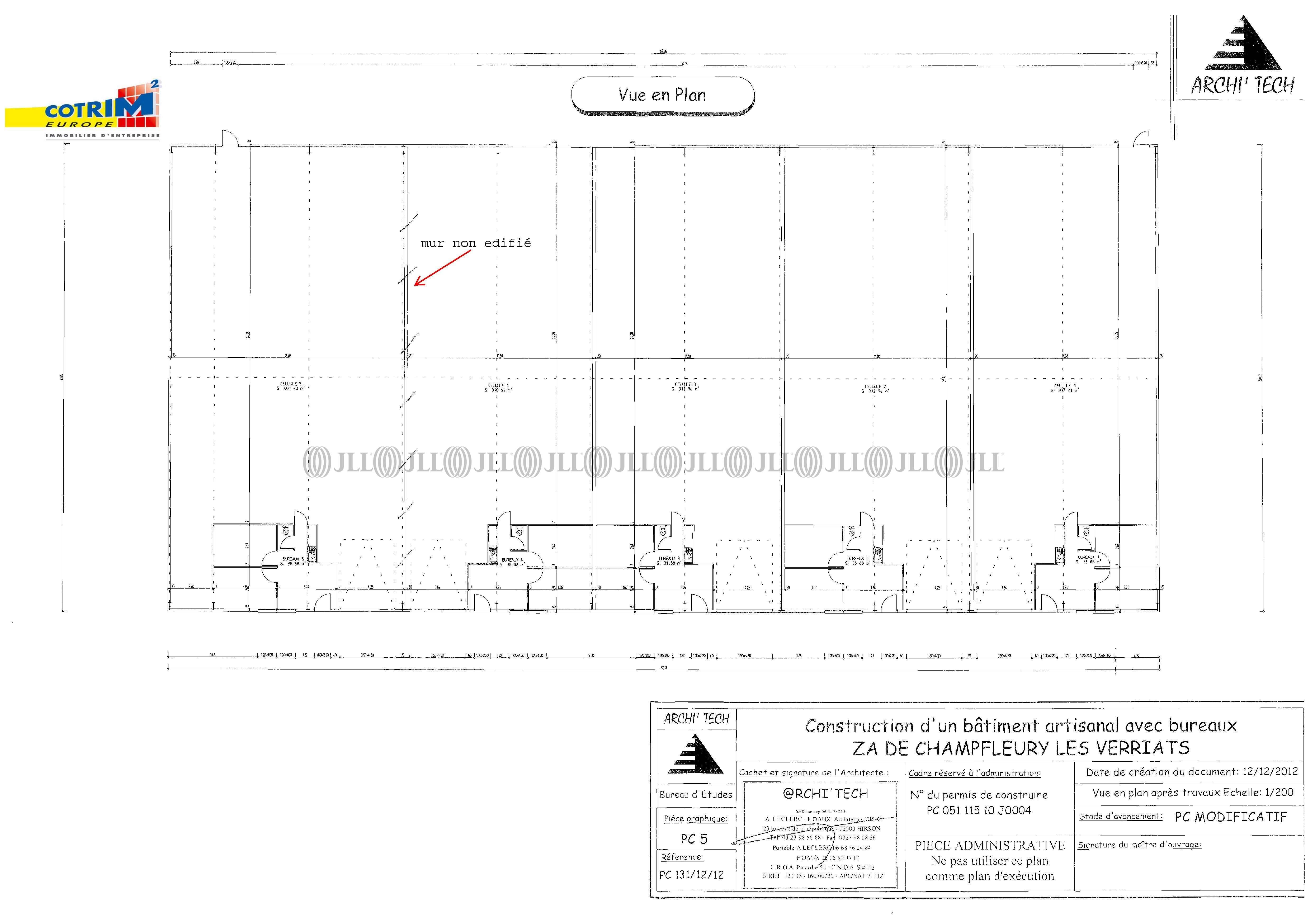 Activités/entrepôt Champfleury, 51500 - CHAMPFLEURY - 488730