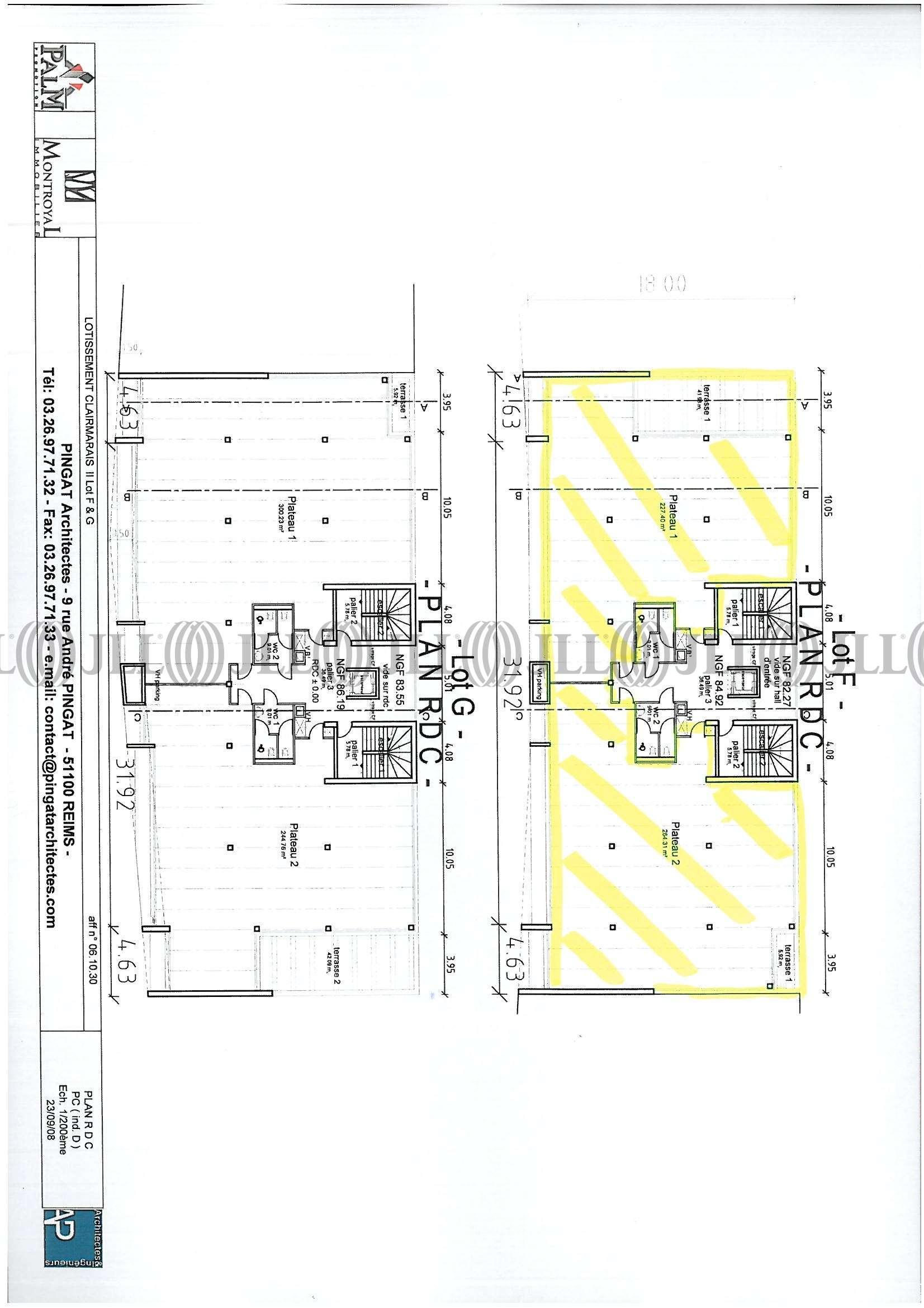 Bureaux Reims, 51100 - LE ROOSEVELT - 488607